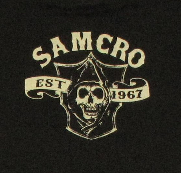 Sons of anarchy patches samcro sons
