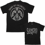 Sons of Anarchy SAMCRO Rifle Circle T Shirt