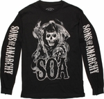 Sons of Anarchy Smoke Reaper Long Sleeve T Shirt