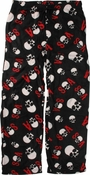 Sons of Anarchy SOA Skull Collage Fleece Pajama Pants