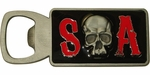 Sons of Anarchy SOA Skull Magnetic Bottle Opener