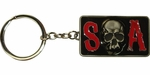 Sons of Anarchy SOA Skull Metal Keychain