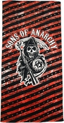 Sons of Anarchy Stars Stripes Towel