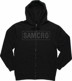 Sons of Anarchy Subtle SAMCRO Reaper Hoodie