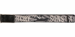 Sons of Anarchy Title Jax Teller American Flag Grayscale Mesh Belt