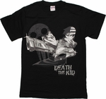 Soul Eater Death Kid Crossed Guns T Shirt
