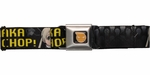 Soul Eater Maka and Soul Maka Chop Seatbelt Mesh Belt