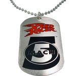 Speed Racer Mach 5 Dog Tag