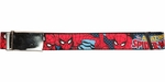 Spiderman Amazing Pose Wrap Mesh Belt