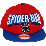 Spiderman Block Name Hat
