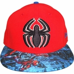 Spiderman Comic Visor 59Fifty Hat