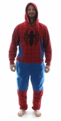 Spiderman Costume Hooded Union Suit
