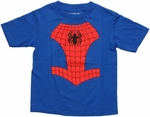 Spiderman Costume Toddler T Shirt