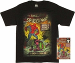 Spiderman Cover T Shirt in Tin