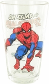 Spiderman Crouch Pint Glass
