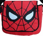 Spiderman Face Messenger Bag