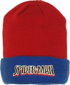 Spiderman Flip Up Beanie