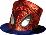 Spiderman Foil Top Hat