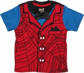 Spiderman Formal Toddler T Shirt