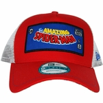 Spiderman Framed Logo Mesh Hat