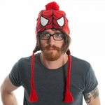 Spiderman Head Pom Lapland Beanie