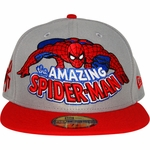 Spiderman Hero Logo 59FIFTY Hat