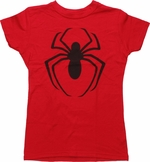 Spiderman Logo Baby Tee