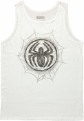 Spiderman Logo Sketch Tank Top