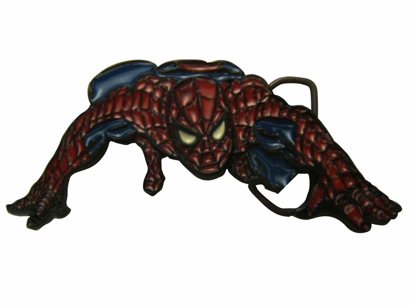 Spiderman Low Crawl Belt Buckle