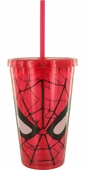 Spiderman Mask Travel Cup