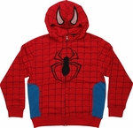 Spiderman Masked Youth Hoodie