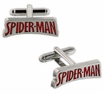 Spiderman Name Cufflinks
