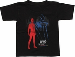 Spiderman NYC Empire State University Toddler T Shirt