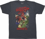 Spiderman Sinister Six Return T Shirt Sheer