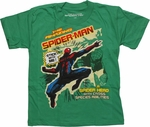 Spiderman Stick With Me Juvenile T Shirt