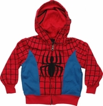 Spiderman Suit Toddler Hoodie