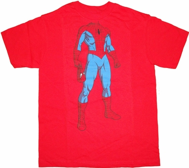 Spiderman Unmasked Youth T Shirt