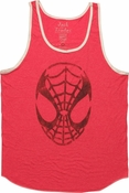 Spiderman Vintage Mask Tank Top