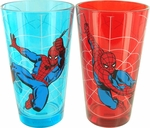 Spiderman Web Swing Pint Glass Set