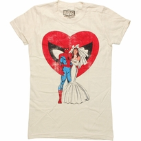 Spiderman Wedding Baby Tee