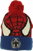 Spiderman Woven Head Cuff Beanie