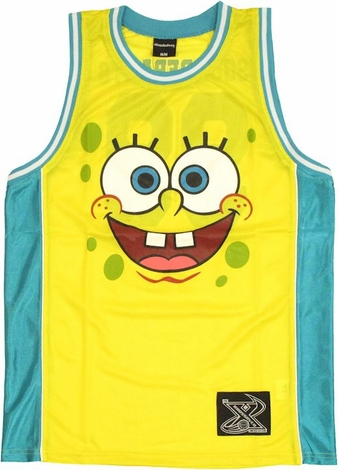 Spongebob Squarepants Basketball Jersey