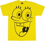 Spongebob Squarepants Face T-Shirt