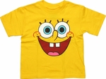 Spongebob Squarepants Face Toddler T Shirt