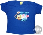Spongebob Squarepants  Jelly Fish Jolt Baby Tee
