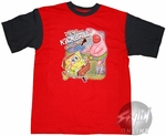 Spongebob Squarepants Kickball Red Youth T-Shirt