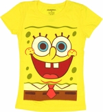 Spongebob Squarepants Youth Girls T Shirt