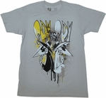 Spy vs Spy Drips T Shirt Sheer