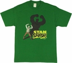 Stan Lee Hulk Smash T Shirt