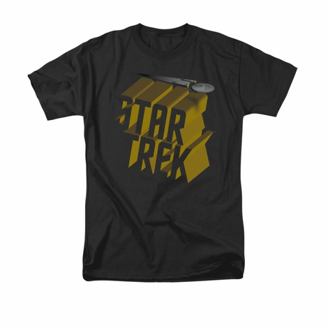Star Trek 3D Logo T Shirt